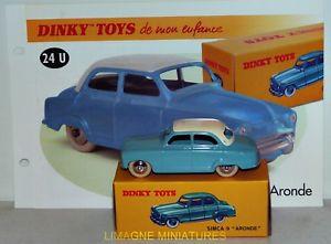 【送料無料】模型車 モデルカー スポーツカー アトラスb3885 dinky toys atlas simca 9 aronde