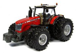 【送料無料】模型車 モデルカー スポーツカー マッセイファーガソントターレベルモデルユニバーサルmassey ferguson 8737 8 wheels trattore tractor 132 model 4284 universal hobbies