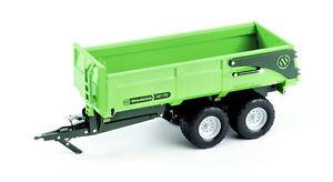 【送料無料】模型車 モデルカー スポーツカー グリーンバージョントレーラーチップモデルmiedema hst 175 green version tipping trailer rimorchio 132 model ros60206 ros