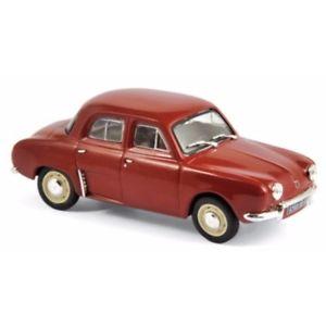【送料無料】模型車 モデルカー スポーツカー レッドルノーrenault dauphine 1963 red 143 513077 norev
