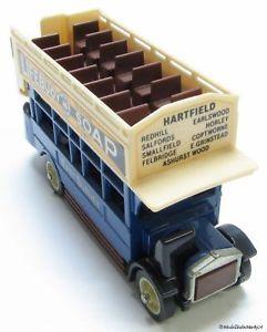 【送料無料】模型車 モデルカー スポーツカー マッチモデルタイプバスmatchbox models of yesteryear aec s type bus 172