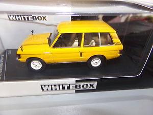 【送料無料】模型車 モデルカー スポーツカー ホワイトボックスレンジローバーミニチュアvoiture miniature  143 whitebox        range rover 3,5 l de 70