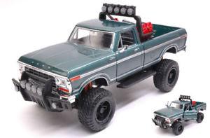 【送料無料】模型車 モデルカー スポーツカー フォードカスタムロードグリーンモデルヒートford f150 custom road 1979 green 124 model motormax