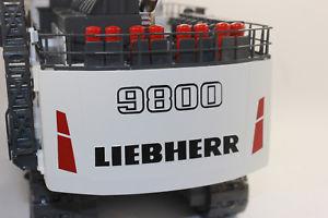 【送料無料】模型車 モデルカー スポーツカー コンラッドマイニングショベルショベルショベルconrad 2942 liebherr r9800 miningbagger hochlffelbagger 150 neu mit ovp