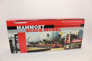 【送料無料】模型車 モデルカー スポーツカー コンラッドトラックkk conrad 61132 man 4achs schwerlastzugmaschine mit 3322 thp mammoet neu kk
