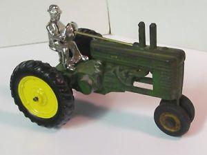 【送料無料】模型車 モデルカー スポーツカー ジョンディアアーケードトタースケールneues angebotjohn deere a or b by arcade, cast iron toy tractor 116th scale