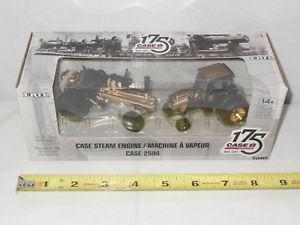 【送料無料】模型車 モデルカー スポーツカー ケースゴールドcase 2594 amp; steam engine set 175th anniversary gold edition by ertl