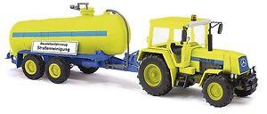【送料無料】模型車 モデルカー スポーツカー ブッシュトレーラートラックbusch 50410 traktorzt 323 mit anhnger, spur h0