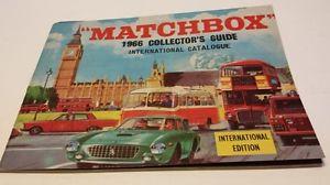 【送料無料】模型車 モデルカー スポーツカー マッチカタログmatchbox kataloge 1966 1971 1972 1975 u1977 berwiegend neuwertig mngel