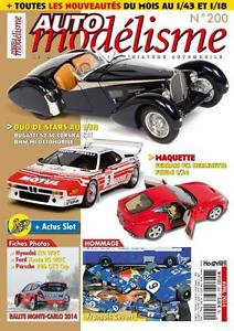 【送料無料】模型車 モデルカー スポーツカー ロットモデルデlot 200 numeros revue automodelisme de    1 a 200