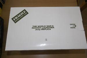 【送料無料】模型車 モデルカー スポーツカー ジープロケットランチャダンベリーミント