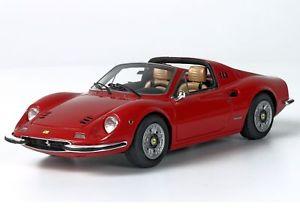 【送料無料】模型車 モデルカー スポーツカー フェラーリディノロッソモデルferrari dino 246 gts rosso 143 bbrc54a bbr models