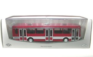 【送料無料】模型車 モデルカー スポーツカー シティバスシティバスliaz 5256 stadtbus city bus redwhite