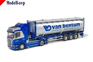 【送料無料】模型車 モデルカー スポーツカー scania r highline bulkcontainer bentum van wsi models wsi 9081