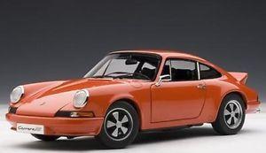 【送料無料】模型車 モデルカー スポーツカー ポルシェカレラオレンジautoart 78057 porsche 911 carrera rs 2,7 orange 1973