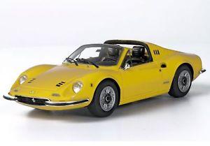 【送料無料】模型車 モデルカー スポーツカー フェラーリディノモデナferrari dino 246 gts 1972 giallo modena 143 bbrc54b bbr