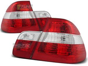 【送料無料】模型車 モデルカー スポーツカー ヌオーヴォシリーズロッソビアンコnuovo fanali posteriori per bmw e46 serie 3 20012005 rosso bianco sv ltbm22ei