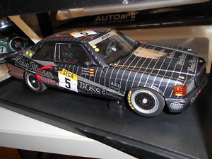 【送料無料】模型車 モデルカー スポーツカー メルセデスベンツ#aa88931 by autoart mercedes benz 500 sec w126 amg 24hrs 5 1989 118