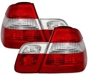 【送料無料】模型車 モデルカー スポーツカー テールランプシリーズ taillights bmw 3 series e46 0105 red white sv ltbm22es xino ch