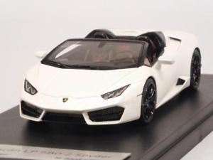 【送料無料】模型車 モデルカー スポーツカー ランボルギーニスパイダービアンコlamborghini huracan lp5802 spyder bianco 143 looksmart ls464d