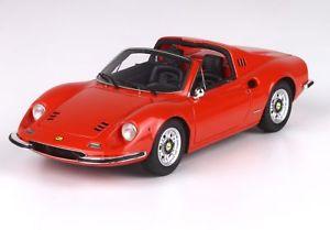 【送料無料】模型車 モデルカー スポーツカー ロッソディノフェラーリディノモデルferrari dino 246 gts rosso dino 143 bbrc54e bbr models