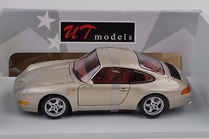 【送料無料】模型車 モデルカー スポーツカー ポルシェカレーペ1995 porsche 911 993 carrera coupe gold 118 ut