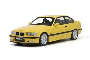 【送料無料】模型車 モデルカー スポーツカー クーペモデルカーオットーbmw e36 m3 coupe gelb modellauto ot666 otto 118