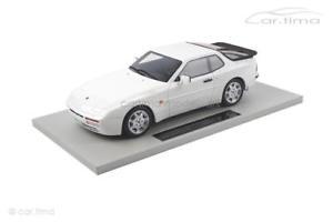 【送料無料】模型車 モデルカー スポーツカー ポルシェターボアルパインホワイトグッズporsche 944 turbo alpinwei 1 of 50 ls collectibles 118 ls023dc