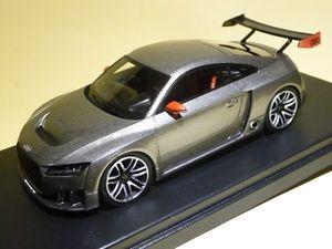 【送料無料】模型車 モデルカー スポーツカー アウディターボaudi tt club sport turbo grigio medio met opaco looksmart lsaudittcs