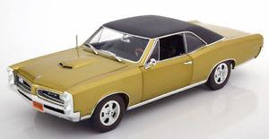 【送料無料】模型車 モデルカー スポーツカー ポンティアックゴールデンタイガーゴールデンマットブラック