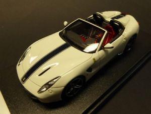 【送料無料】模型車 モデルカー スポーツカー フェラーリアメリカferrari f60 america 2014 bianco avus looksmart ls443e