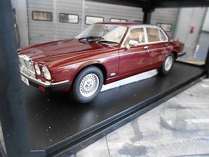 【送料無料】模型車 モデルカー スポーツカー ジャガーレッドメタリックレッドカルトスケールjaguar xj siii s3 mkiii red rot metallic 1979 1985 resin cult scale 118