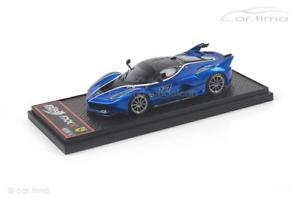 【送料無料】模型車 モデルカー スポーツカー フェラーリ#ferrari fxxk 17 blau 1 of 100 bbr 143 bbrc186b