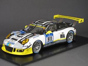 【送料無料】模型車 モデルカー スポーツカー スパークポルシェグアテマラ#ニュルブルクリンク118 spark porsche 911 gt3r 911 24h nrburgring 2016 manthey