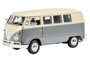 【送料無料】模型車 モデルカー スポーツカー フォルクスワーゲンフォルクスワーゲンサンババスパールホワイトマウスグレーschuco 00375 118 volkswagen vw t1 samba bus perlweissmausgrau neu