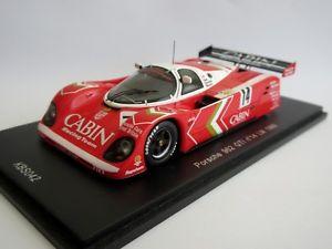 【送料無料】模型車 モデルカー スポーツカー ポルシェ#キャビンルマンスパークkbsporsche 962 gti 14 cabin le mans lm 1989 spark 143 kbs042