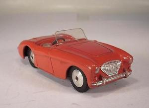 【送料無料】模型車 モデルカー スポーツカー コーギーオースティンヒーリーレッド#corgi toys 300 austin healey rot nr1 006