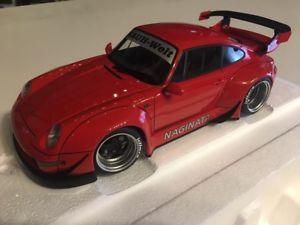 【送料無料】模型車 モデルカー スポーツカー ポルシェporsche 993 rwb rot 118 autoart neu amp; ovp 78153