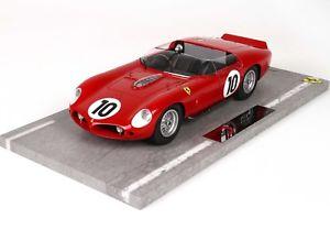 【送料無料】模型車 モデルカー スポーツカー フェラーリルマンferrari 250 tr 61 winner 24h du mans 1961 bbrc 1804 118