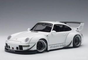 【送料無料】模型車 モデルカー スポーツカー ポルシェソフトウェアライセンスラフワールドモデルカーporsche 911 993 rwb rauh welt wei, modellauto 118 autoart