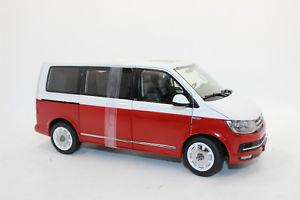 【送料無料】模型車 モデルカー スポーツカー バスnzg 954110 vw t6 bus multivan rot weiss 118 neu ovp
