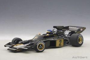 【送料無料】模型車 モデルカー スポーツカー ロータスピーターソン#ドライバーautoart 87330 118 composite lotus 72 e 1973 peterson 2 with driver figurin