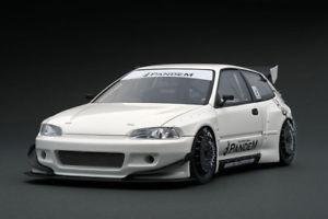 【送料無料】模型車 モデルカー スポーツカー シビックイグニッションモデルpandem civic eg6 white 118 ig1049 ignition models