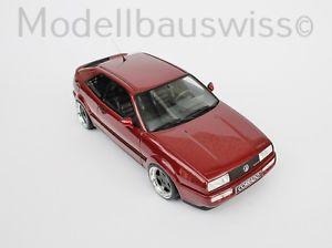 【送料無料】模型車 モデルカー スポーツカー チューニングモデルスイスvw corrado g60 rot 118 1zu18 tuning rar wwwmodellbauswissch