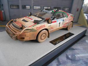 【送料無料】模型車 モデルカー スポーツカー トヨタセリカサファリラリーカンクネン#トップマルケスtoyota celica t18 4x4 safari rallye 1993 winner kankkunen 1 d top marques 118