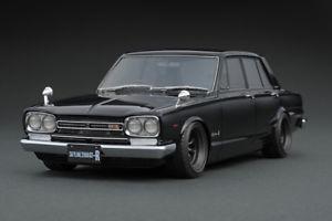 【送料無料】模型車 モデルカー スポーツカー スカイラインイグニッションモデルnissan skyline 2000 gtr pgc10 schwarz 118 ig0765 ignition model