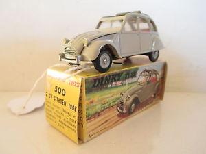 【送料無料】模型車 モデルカー スポーツカー シトロエンdinky 500 citroen 2cv aza 1966 mib 9 en boite lk
