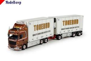 【送料無料】模型車 モデルカー スポーツカー scania r6 highline rigid tonerud tekno t 70560