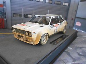 【送料無料】模型車 モデルカー スポーツカー フィアットアバルトラリーサンレモ#トップマルケスfiat 131 abarth rallye san remo 1980 winner 2 rhrl dirty ver top marques 118