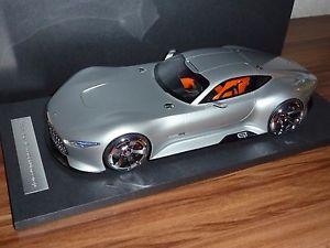 【送料無料】模型車 モデルカー スポーツカー メルセデスビジョングランツーリスモコンセプトシルバーモデル mercedes 118 vision amg gran turismo concept car silber 2015 gt modell 777